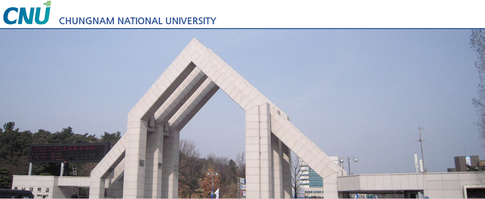 CNU CHUNGNAM NATIONAL UNIVERSITY